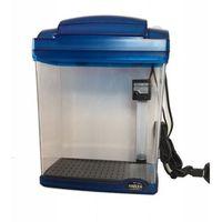 Hailea Akwarium akrylowe+filtr podżwirowy+oświetlenie led 6l niebieskie