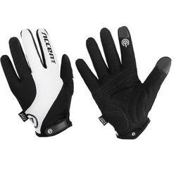Rękawiczki Accent Marathon czarno-białe XXL