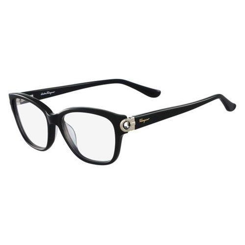 Salvatore ferragamo Okulary korekcyjne sf 2734 001