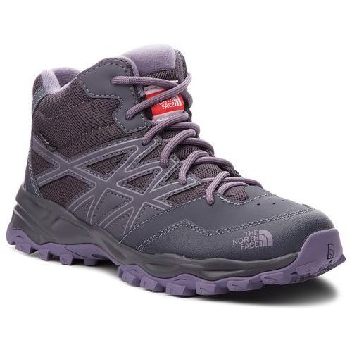 Trekkingi - hedgehog hiker mid wp nf00cj8q5ss periscope grey/purple sage marki The north face
