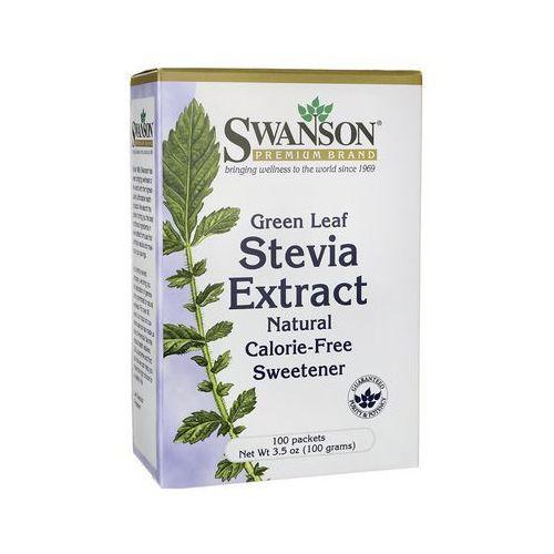 Swanson Stevia Extract 100 saszetek po 1g