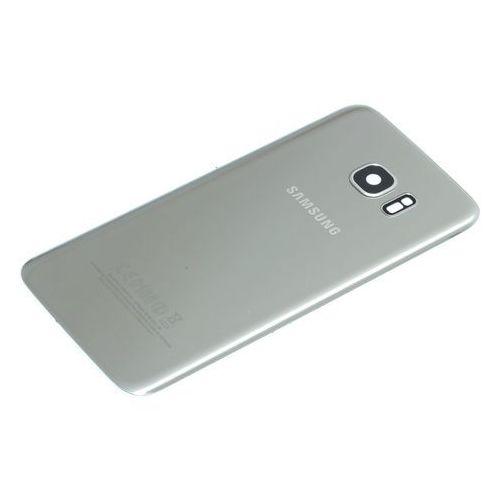 Klapka baterii galaxy s7 edge oryginalna grade a silver platinium - grade a \ srebrny / silver marki Samsung