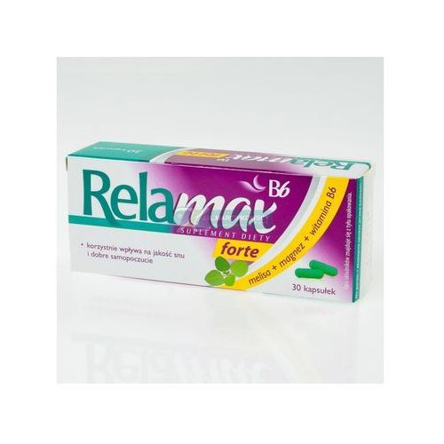 Relamax B6 Forte kaps. - 30 kaps