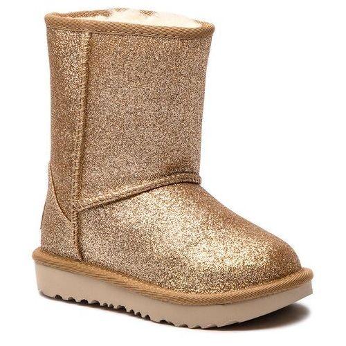 Ugg Buty - t classic short ii glitter 1098491t t/gold