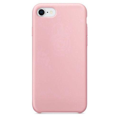 Silicone Case elastyczne silikonowe etui pokrowiec iPhone 8 / 7 różowy (7426825345738)