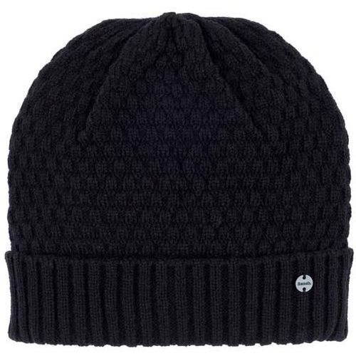 czapka zimowa BENCH - Interest Turn Up Beanie Black Beauty (BK11179) rozmiar: OS