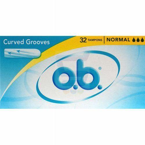 Tampony o.b.® normal 32 szt - poland sp. z o.o. Johnson & johnson
