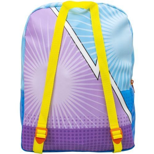 Magic box Super zings plecak szkolny dla dzieci z peleryną superzings (8435442419455)