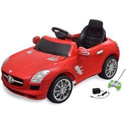 samochód elektryczny dla dzieci czerwony mercedes benz sls 6v + pilot marki Vidaxl
