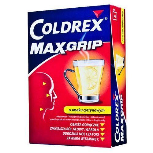 Glaxosmithkline Coldrex maxgrip lemon x 10 saszetek
