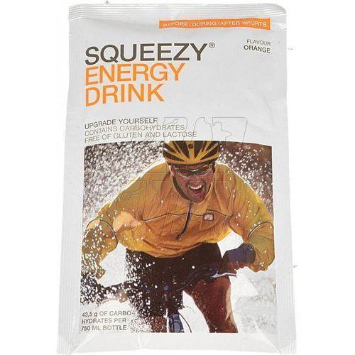 Napój energetyczny SQUEEZY o smaku pomarańczowym 50g