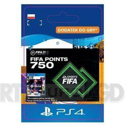 Fifa 21 750 punktów [kod aktywacyjny] ps4 marki Sony
