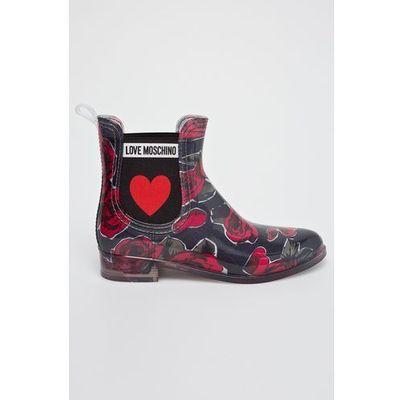 Kalosze damskie Love Moschino ANSWEAR.com