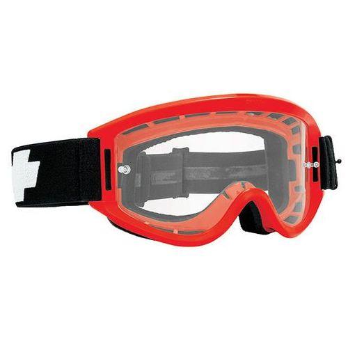 Spy Gogle narciarskie breakaway red flash - clear w/ post