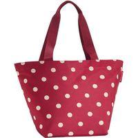 Torba na zakupy reisenthel shopper m ruby dots (rzs3014)