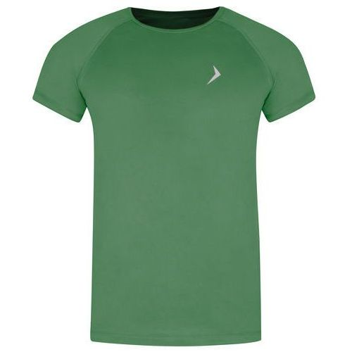 Koszulka męska termoaktywna tsmf600 - zielony marki Outhorn