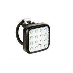 blinder mob kid grid lampka rowerowa przednia białe led czarny lampki na baterie przednie marki Knog