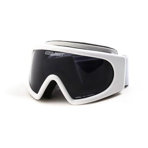 Gogle narciarskie 886 junior bianco white antifog fumo Salice