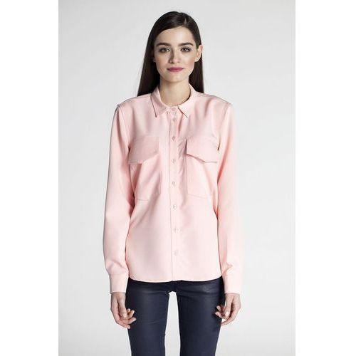 Koszula damska model abk0099 pink marki Ambigante
