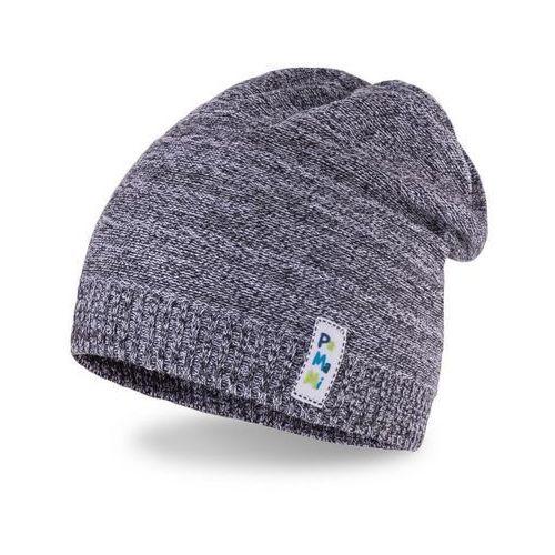 Pamami Wiosenna czapka chłopięca - ciemnoszary - ciemnoszary (5902934031783)