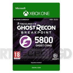 Tom Clancy's Ghost Recon: Breakpoint 5800 Ghost Coins [kod aktywacyjny] Xbox One