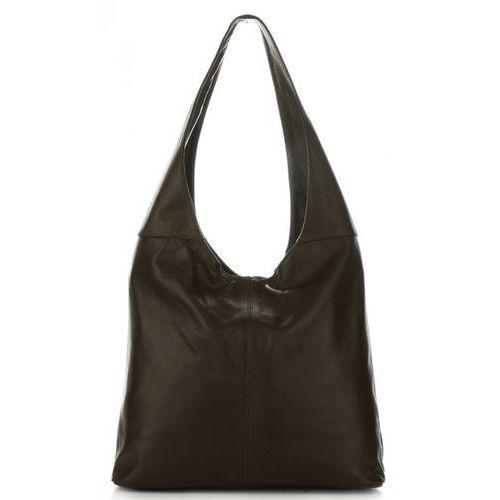 344ed090d18aa Torebki damskie skórzane typu shopperbag z wysokiej jakości miękkiej skóry  naturalnej firmy czekolada (kolory)