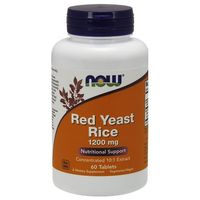 Tabletki Now Foods Red Yeast Rice 1200mg 60 tabl.