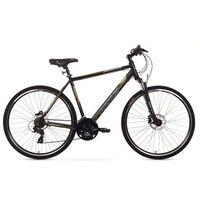 """Arkus rower crossowy Safari M Disc czarny 19"""" model 2015 - Gwarancja terminu lub 50 zł! BEZPŁATNY ODBIÓR: WROCŁAW!"""