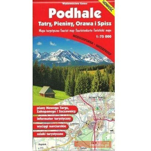 Podhale Pieniny Orawa I Spisz Mapa 1:75 000 Foliowana - Praca zbiorowa - Dostawa Gratis, szczegóły zobacz w sklepie (2 str.)