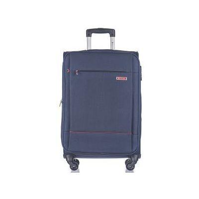 dbed61b3292d7 PUCCINI walizka średnia EM50720 z kolekcji PARMA 4 koła materiał poliester  zamek szyfrowy możliwość poszerzenia, EM 50720 B www.swiat-torebek.com