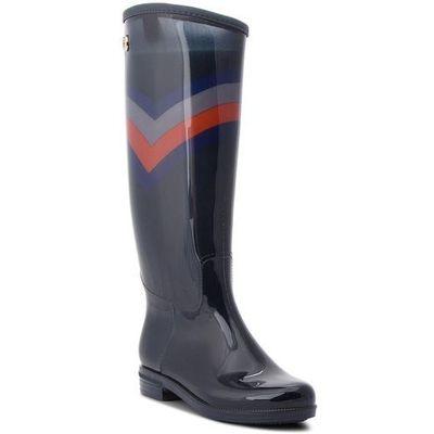 25ce811a930b9 Kalosze TOMMY HILFIGER - Corporate Long Rain FW0FW03563 Rwb 020