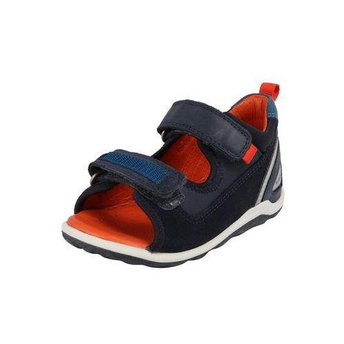 Ecco sandały 'biom mini' niebieska noc / biały (0809704977515)