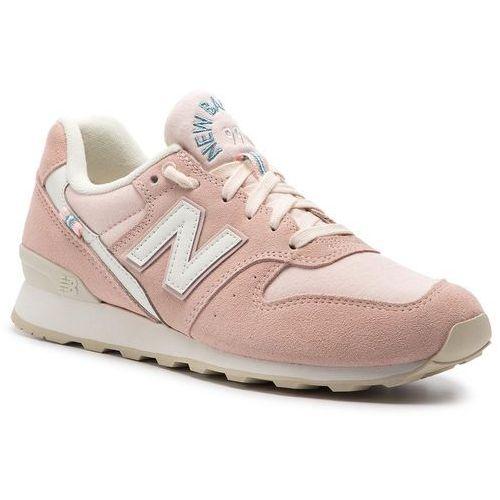 Sneakersy - wr996yd różowy marki New balance