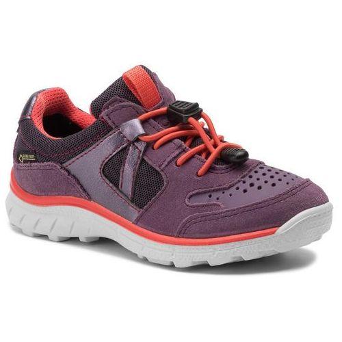 Ecco Sneakersy - biom trail kids gore-tex 70276259994 grape/grape/night shade