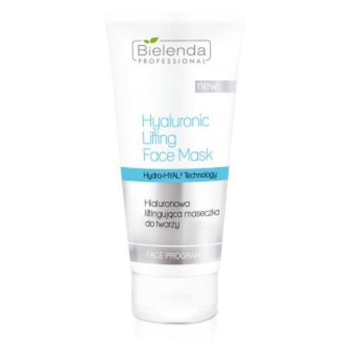 Hyaluronic lifting face mask hialuronowa maseczka liftingująca do twarzy - 175 ml Bielenda professional