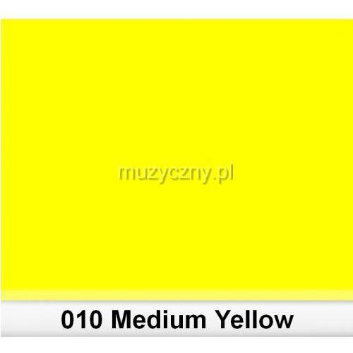 Lee 010 Medium Yellow filtr barwny folia - arkusz 50 x 60 cm