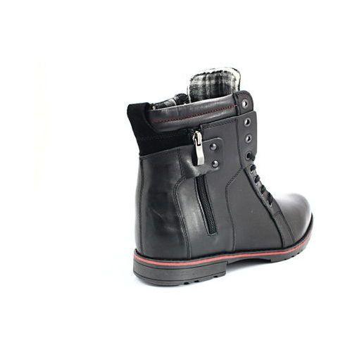KENT 514 BRĄZOWE Męskie buty zimowe