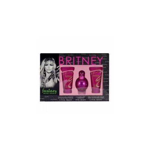 Fantasy, zestaw perfum edp 30ml + 50ml żel pod prysznic + 50ml krem do ciała (w) Britney spears - Sprawdź już teraz