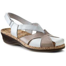 Sandały COMFORTABEL - 720088-3 Beżowy Biały, w 3 rozmiarach