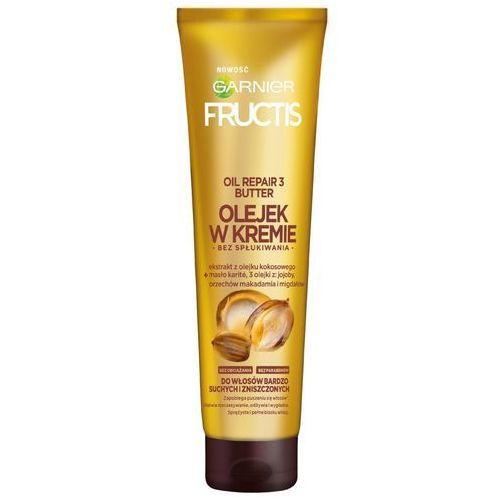 Garnier Fructis, Oil Repair 3 Butter. Olejek w kremie do włosów bardzo suchych i zniszczonych, 150ml - Garnier