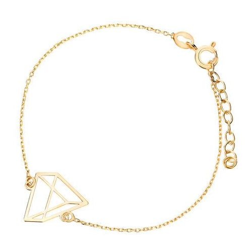 3bff029697 Biżuteria damska INFINITY BTBK0089 Bransoletka srebrna pozłacana