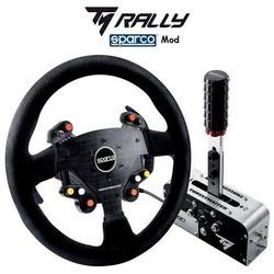 Thrustmaster zestaw tm rally race gear sparco mod kierownica + hamulec