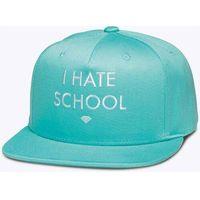 czapka z daszkiem DIAMOND - I Hate School Diamond Blue (DBLU)