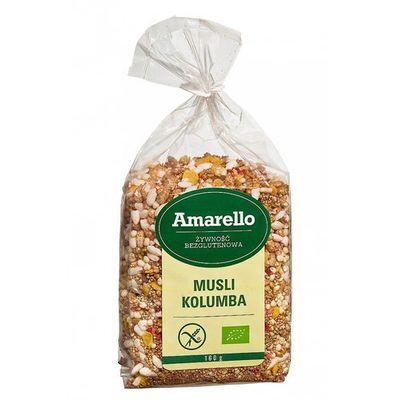 Płatki, musli i otręby Amarello biogo.pl - tylko natura
