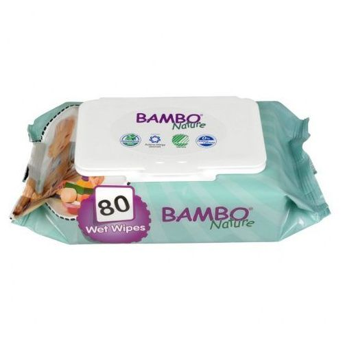 Chusteczki Nawilżane Bambo Nature, 80 szt., ABENA