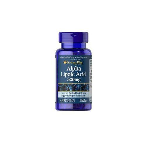 Puritan's pride Kwas alfa liponowy 300 mg / 60 kaps