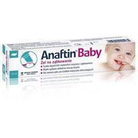 Anaftin Baby, Żel na ząbkowanie, 10 ml - Długi termin ważności! DARMOWA DOSTAWA od 39,99zł do 2kg! (4013054025185)