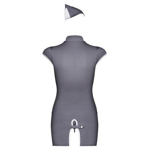 Obsessive Przebranie sukienka stewardess dress costume s/m (5900308550496)