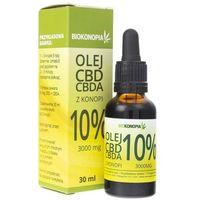 Biokonopia Olejek z konopi 10% CBD+CBDA 3000 mg - 30 ml