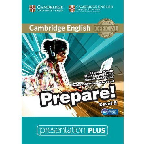Cambridge English Prepare! 2 Presentation Plus (Płyta DVD) (9781107497184)